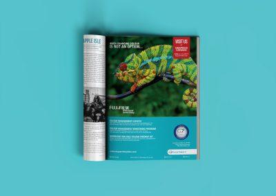 FujiFilm print ad graphic design vancouver bc