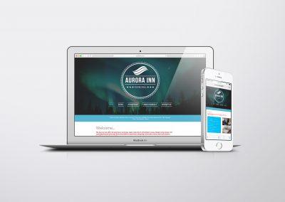 Aurora Inn Vancouver Web Design