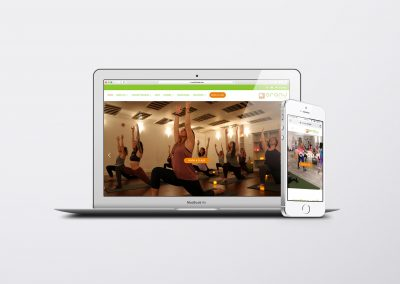 Fitness studio website, oranj fitness, Kelowna, BC, Alberta, Vancouver web design