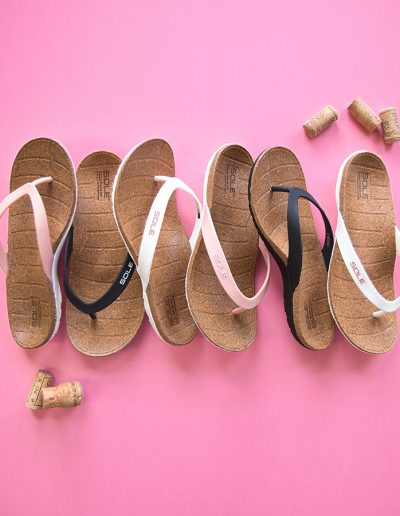 vancouver photography footwear sole cork sandals flip flops campaign content creation