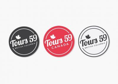 Tours 59 Vancouver Logo Design