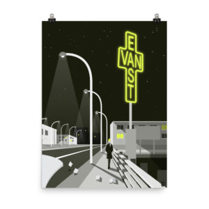 art prints design pop art illustration minimal vancouver east van