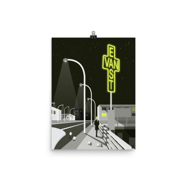 art prints design pop art illustration minimal vancouver east van