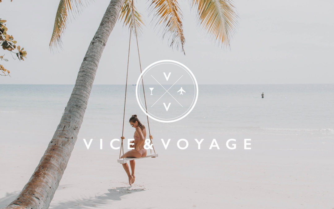 New Logo and Brand Identity for Vice & Voyage