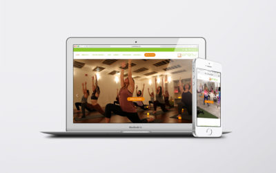 Oranj Fitness Website Redesign
