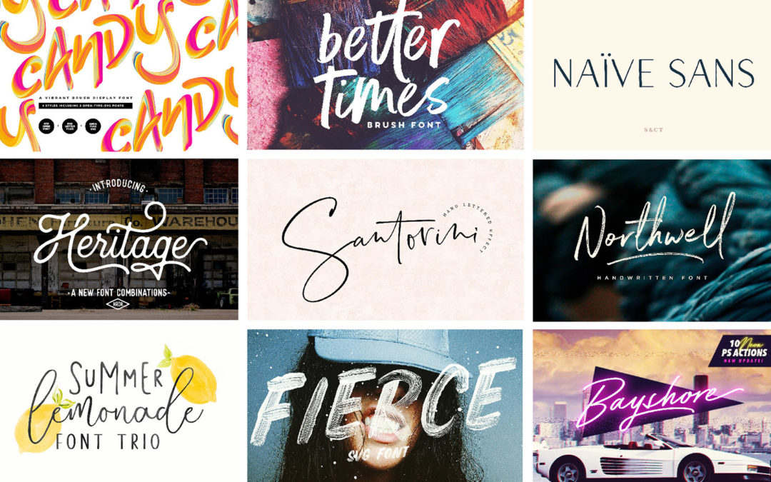 15 Awesome Handwritten Fonts That We Love!