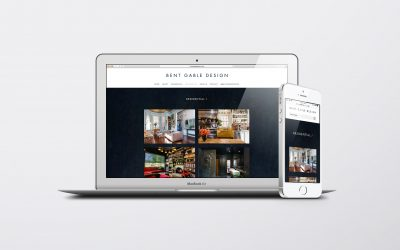 A refreshed website design for Bent Gable Design Inc