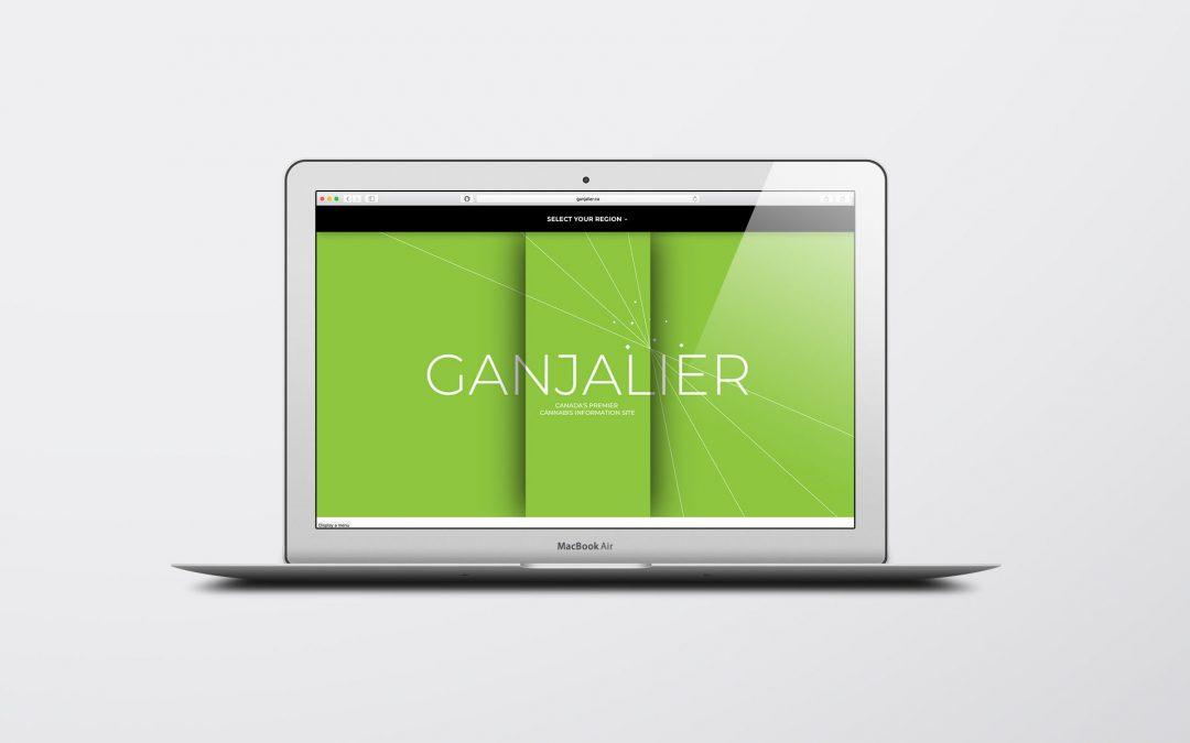 New Website Design for Ganjalier