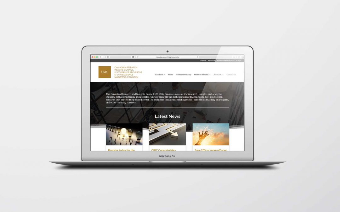 Website Design For CRIC
